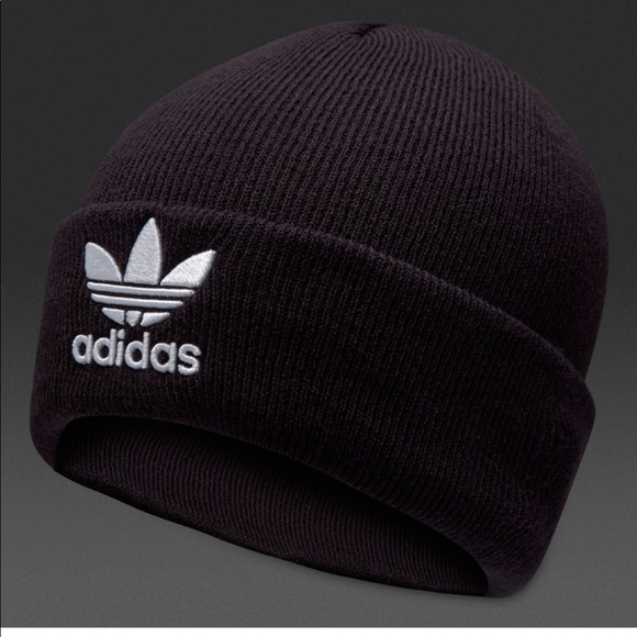 1224150e8a73b adidas Men s Originals Trefoil II Knit Beanie